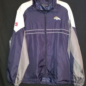 DunBrooke Denver Broncos windbreaker.